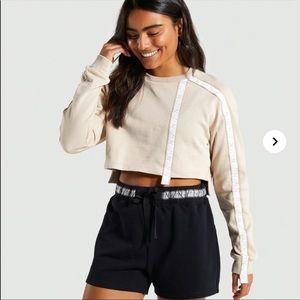 Gymshark cropped pullover sweatshirt